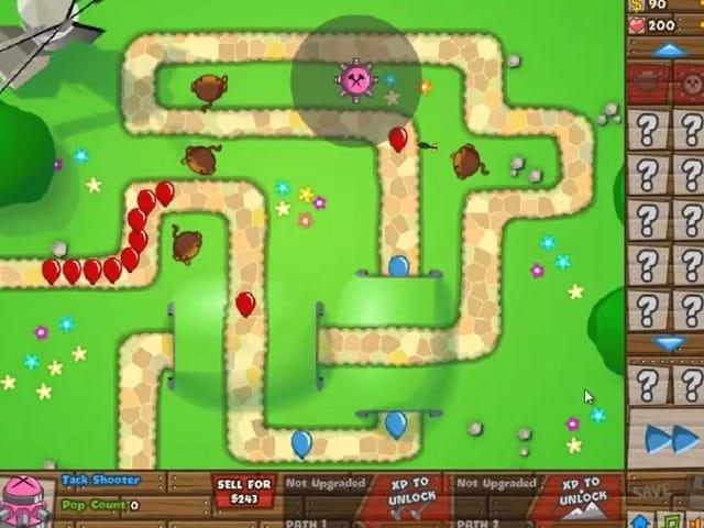 BLOONS TOWER DEFENSE 5 trò chơi trực tuyến | POMU Game